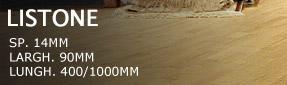 Pavimenti in legno massiccio
