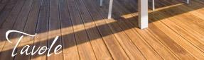 pavimenti in legno Decking da esterno