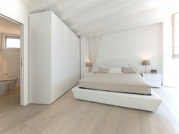 Legno Bianco Sbiancato : Adesivo sbiancato bianco struttura di legno di quercia u pixers