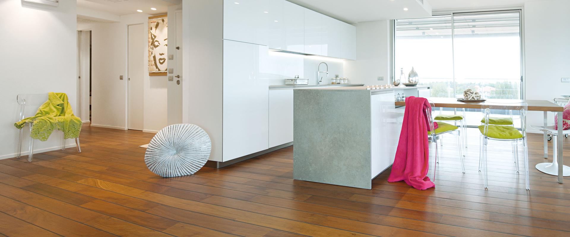Gallery: Pavimento in legno per la Cucina | Garbelotto