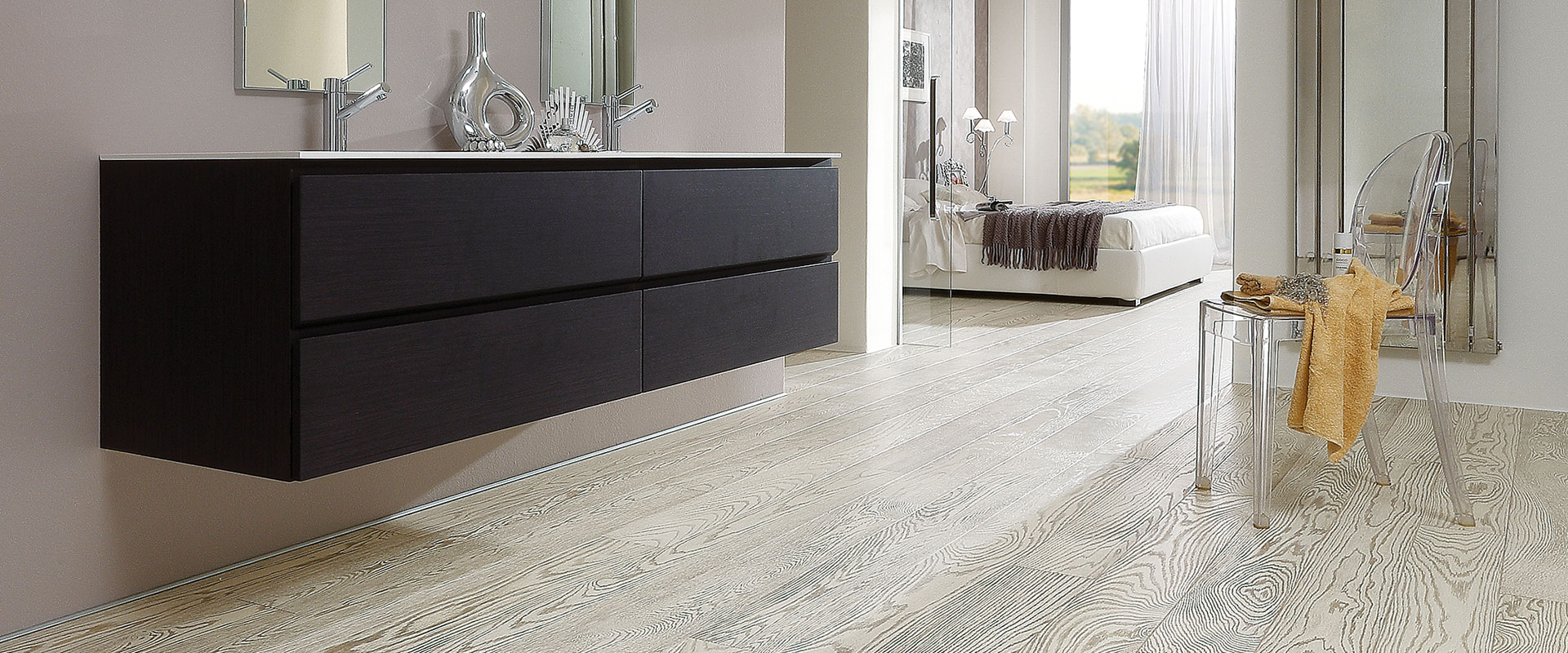 Gallery pavimento in legno per la sala da bagno garbelotto - Bagno pavimento legno ...