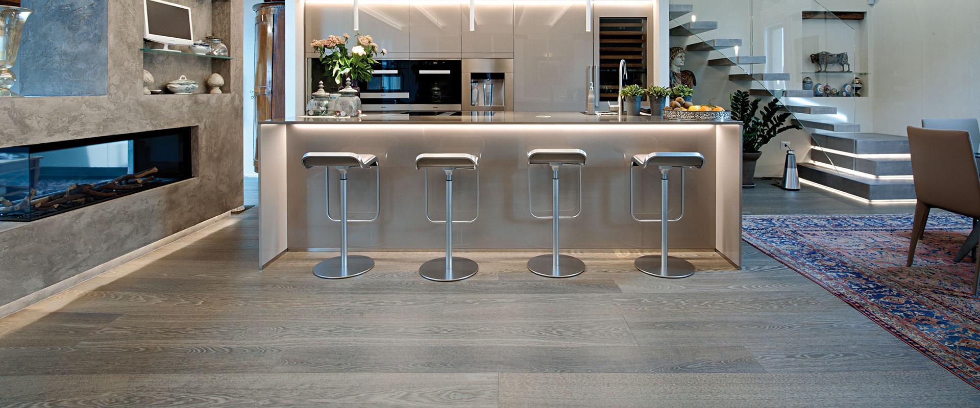 Gallery: Pavimento in legno per la Cucina   Garbelotto