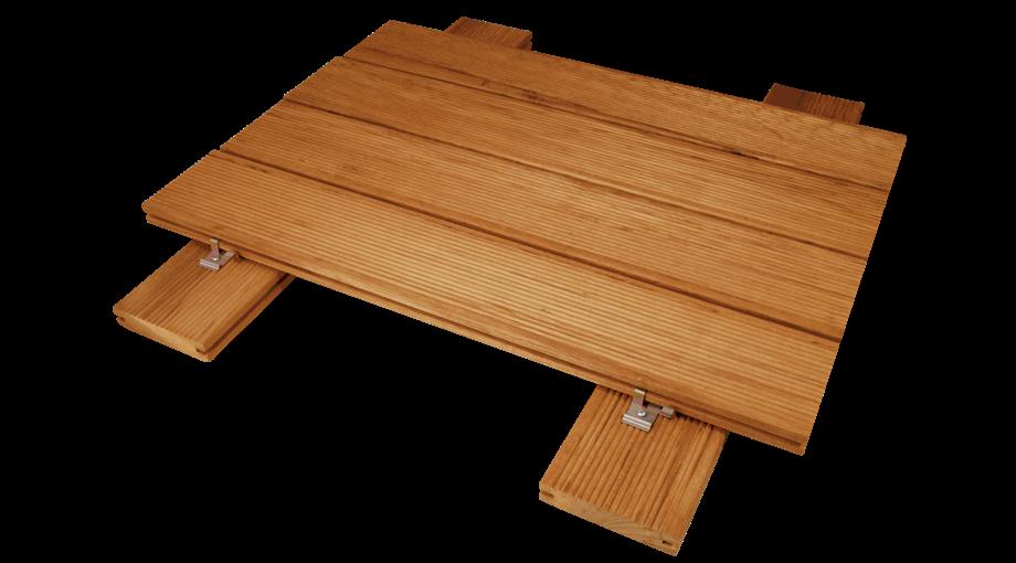 Pavimenti in legno da esterno della linea decking garbelotto e